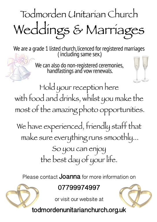 TUC wedding contact details