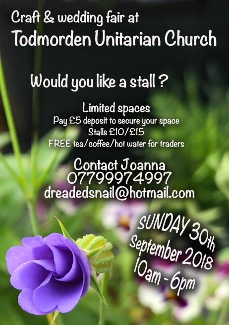 flyer for stalls